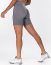 Echt Force Scrunch Bike Shorts - Grey