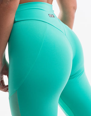 Echt Merge Leggings - Neptune Green