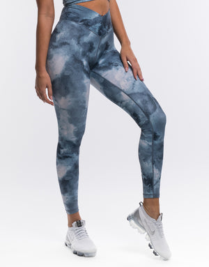 Echt Coral Leggings - Dark Blue