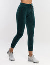 Echt Velour Joggers - Emerald Green