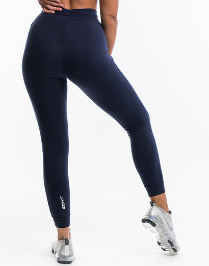 Ladies Tapered Joggers V2 - Indigo