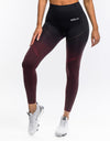 Arise Ombre Leggings - Berry