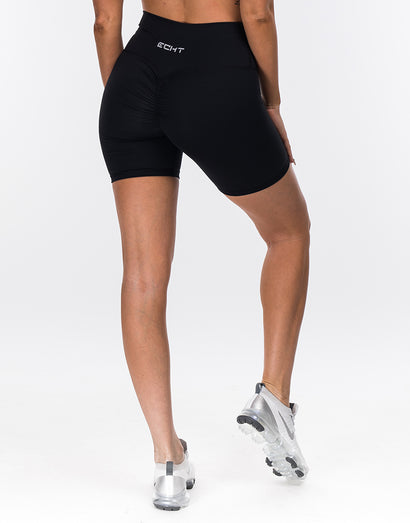 Echt Force Scrunch Bike Shorts - Black