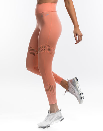 Echt Enforce Scrunch Leggings - Papaya