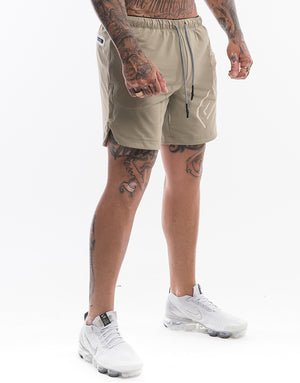 Echt Shadow Shorts - Aluminium