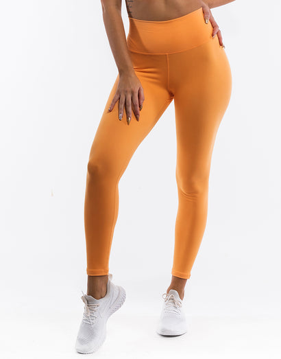 Echt Force Scrunch Leggings - Blazing Orange