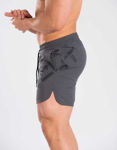 Echt Black Series Shorts - Gray