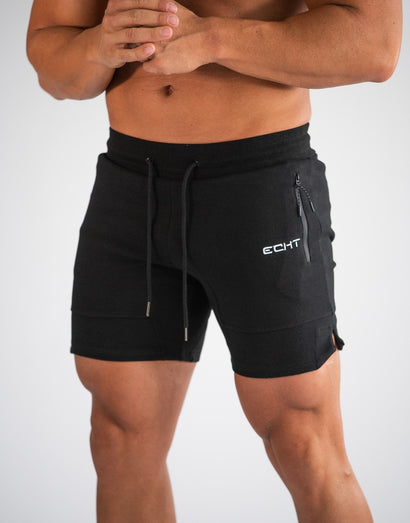 Echt Force Knit Shorts - Black