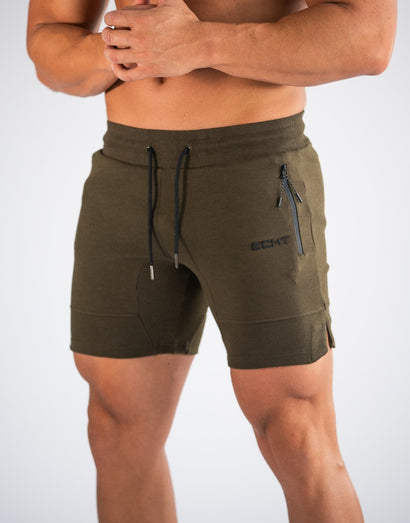Echt Force Knit Shorts - Thyme