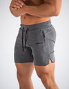 Echt Force Knit Shorts - Heather Charcoal