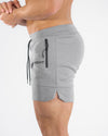 Echt Force Knit Shorts - Heather Grey