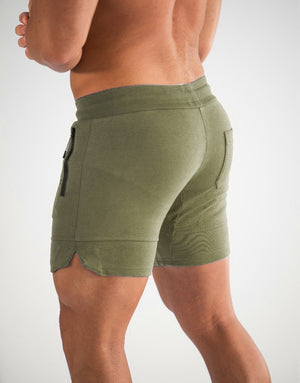 Echt Force Knit Shorts - Khaki