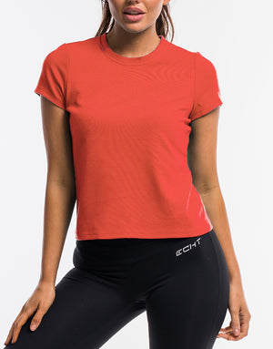 Echt Free Flow Tee - Coral