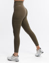 Echt Jagged Leggings - Caper Khaki