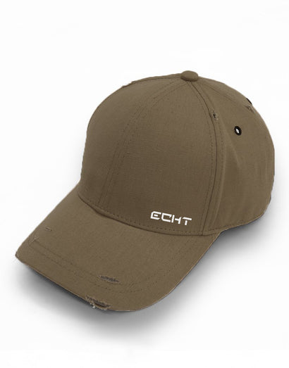 Echt Distressed Cap - Khaki