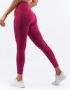 Ladies Tapered Joggers - Garnet