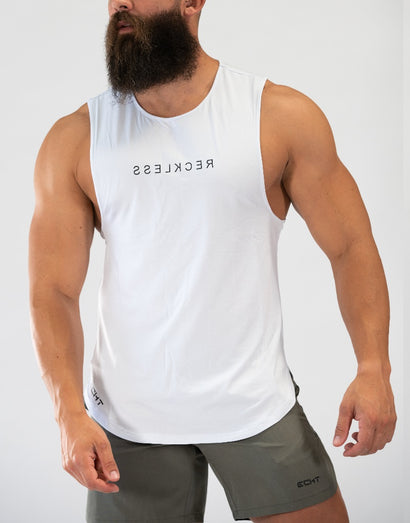 Echt Reckless Muscle Top V2 - White