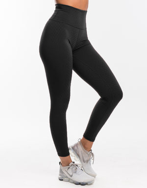 Echt Swift Scrunch Leggings - Black
