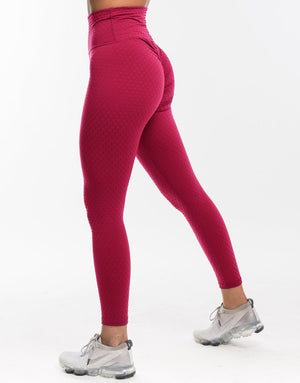 Echt Swift Scrunch Leggings - Rouge