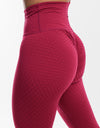 Echt Swift Scrunch Leggings - Cerise