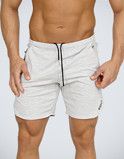 Echt Impetus Knit Shorts - Cloud White