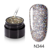 Load image into Gallery viewer, NAILWIND UV Nail Gel Painting Glitter Diamond Dazzling Gel Nail Varnish Hybrid Semi Permanent Base Top Manicure set