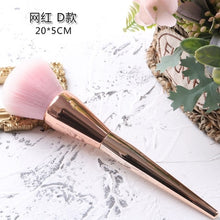 Load image into Gallery viewer, TSZS Popular Round Small Flower Brush Nail Paint Gel Dust Cleaning Brushes Make Up Brush Nail Art Manicure Tool