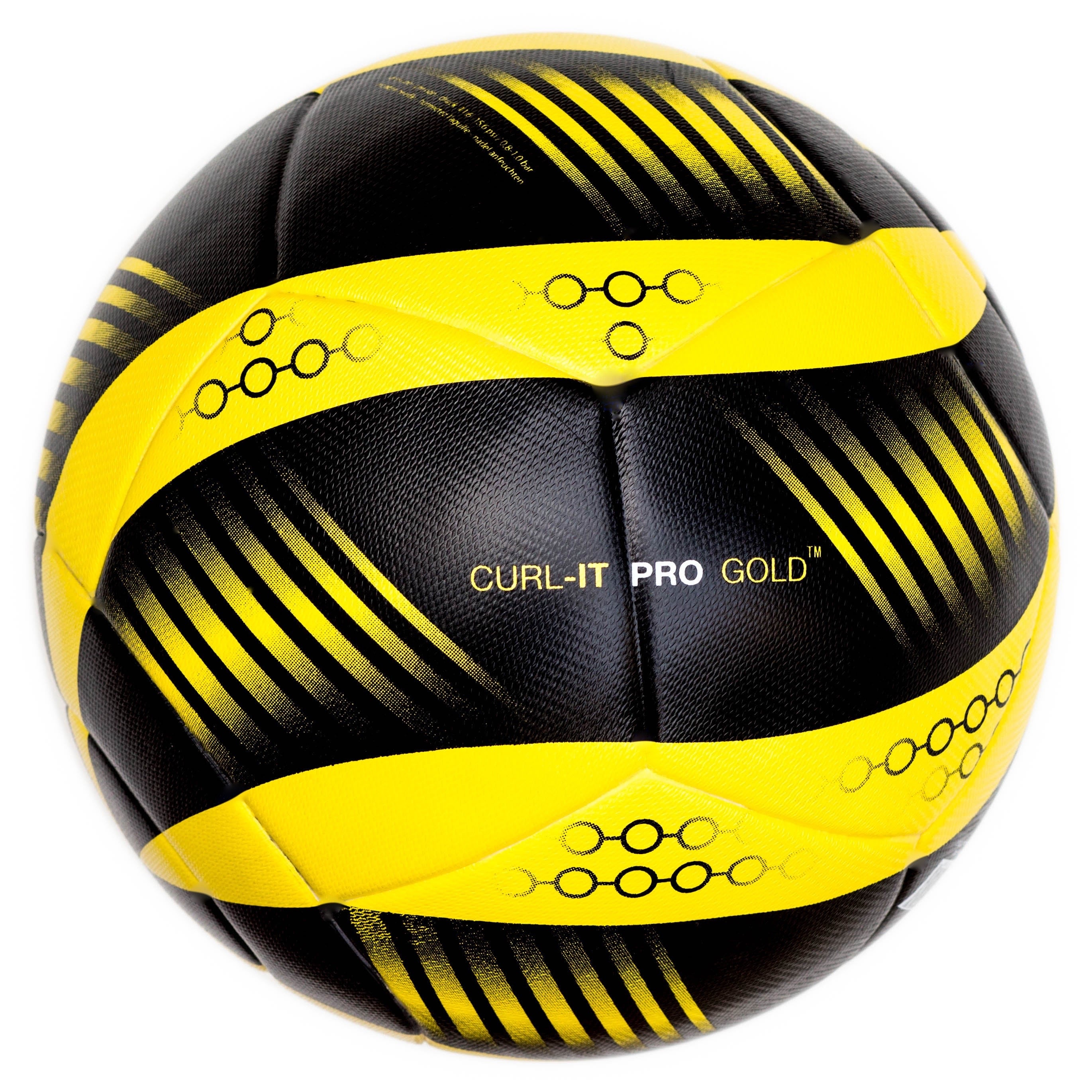 f11153bd95e Bend-It Soccer, Curl-It Pro Gold, Soccer Ball Size 5, Match Ball ...