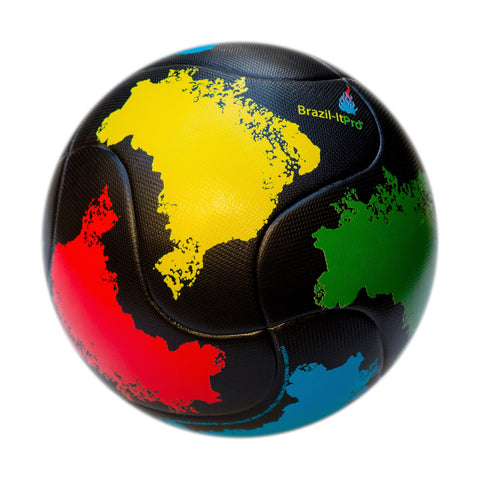 Bend-It Soccer, Brazil-It Pro, Soccer Ball Size 5, Brasil Match Ball
