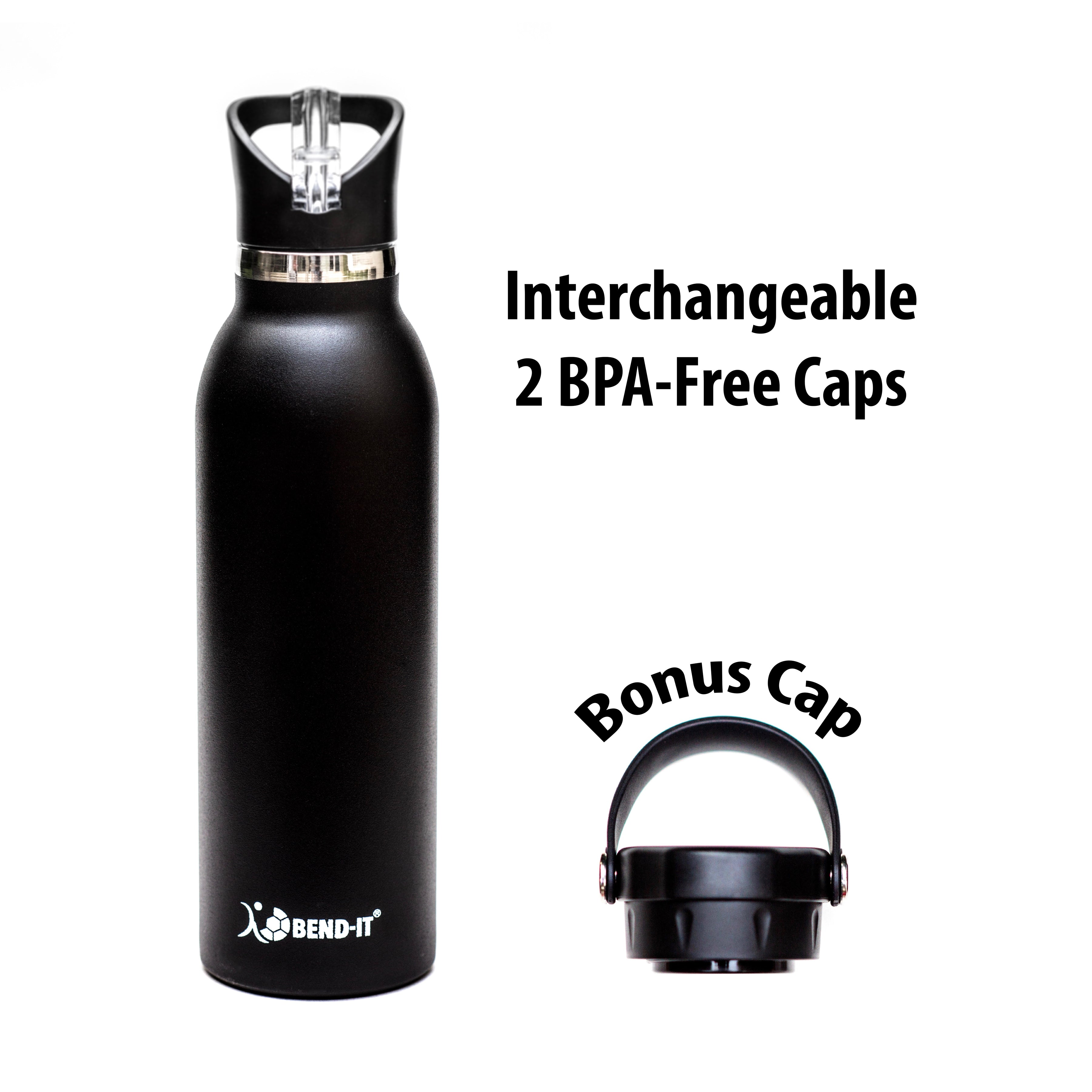 Bend-It The Coldest Water Bottle, Stainless Steel Sports