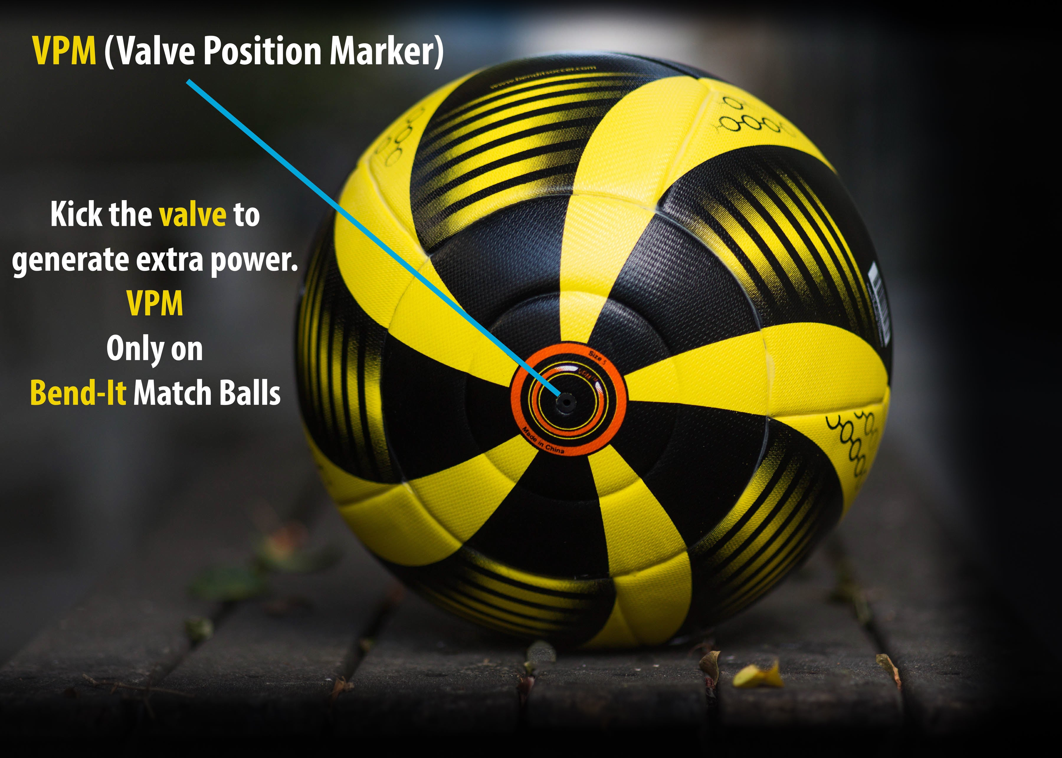 the latest presenting online store Bend-It Soccer, Curl-It Pro Gold, Soccer Ball Size 5, Match ...