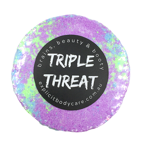 Triple Threat, Natural Bath Bombs, Explicit Body Care
