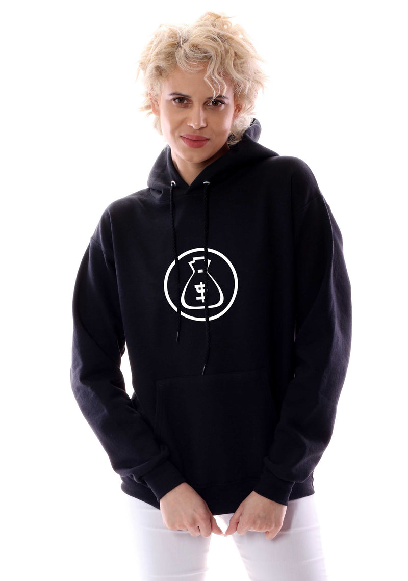 Women's Tokyo Monee Circle Logo Graphic Pullover Hoodie