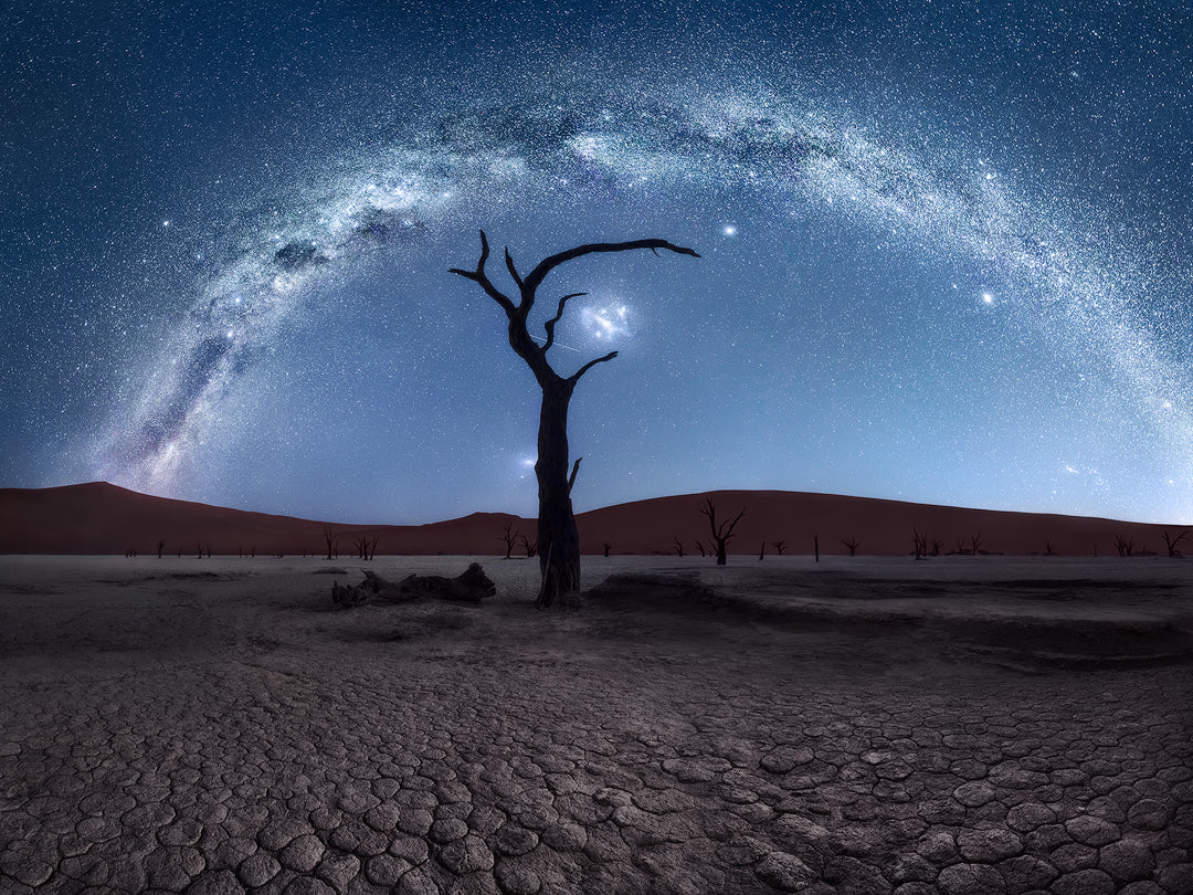 Namibia Deadvlei Milky Wayby Isabella Tabacchi Photography