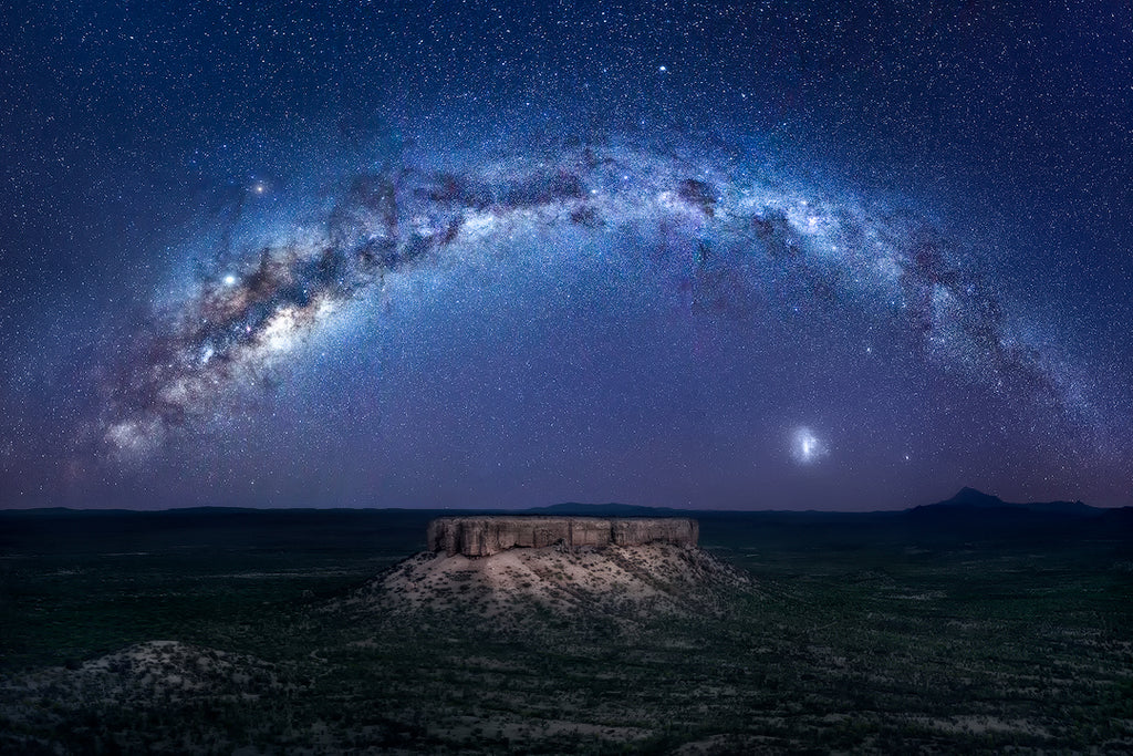 Milky Way in Namibia. Night Photography and nature fine art prints by Isabella Tabacchi