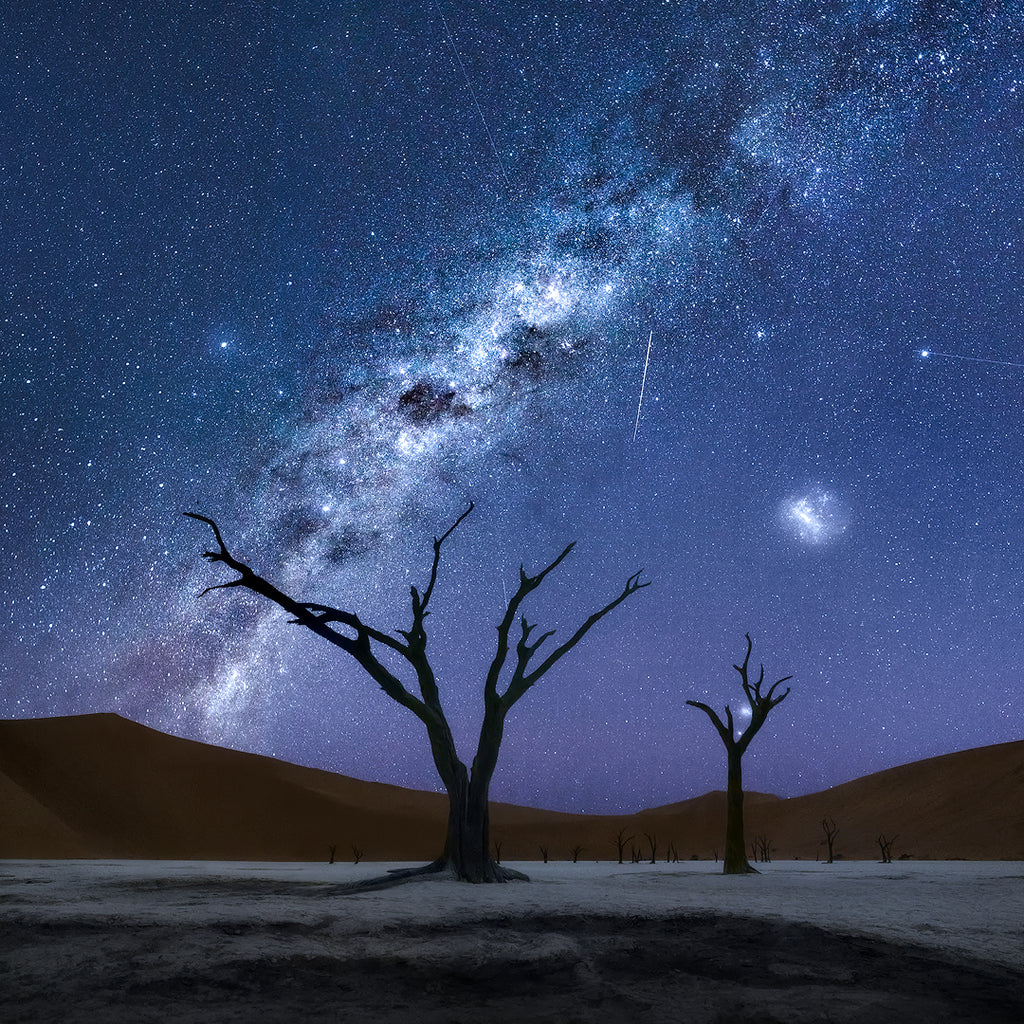 Nocturnal Souls by Isabella Tabacchi Namibia Deadvlei Night Photography Milky Way