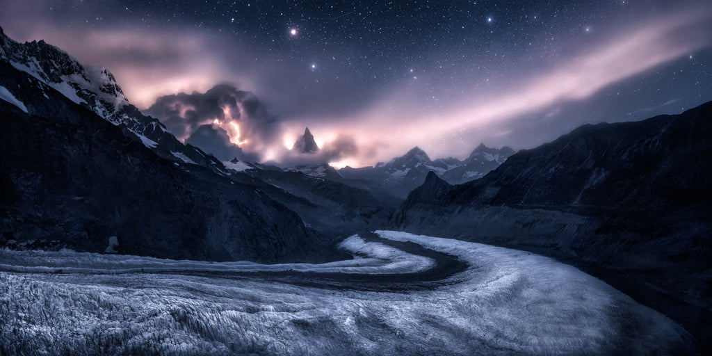The final destination. Matterhorn seen from Monte Rosa Hutte by Isabella Tabacchi Photography Fine Art Prints on sale by Isabellandscapes