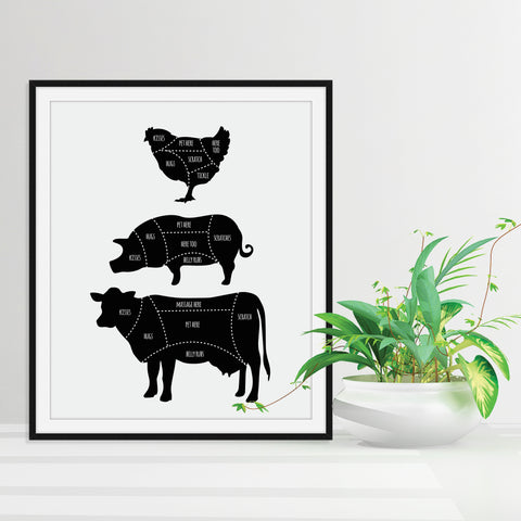 Our Favorite Vegan Art Prints