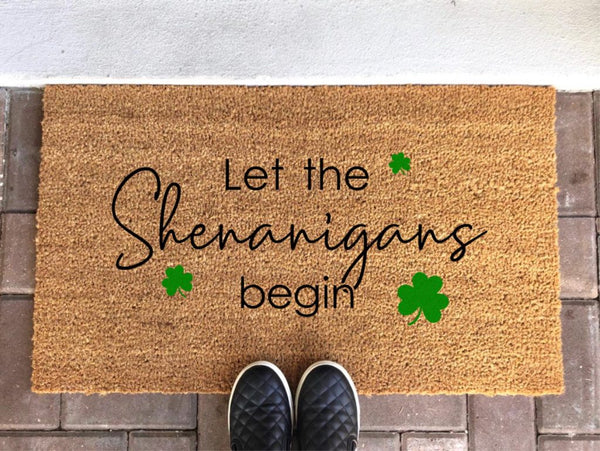 The St. Patrick's Day Doormat - Amazing St. Patrick's Day Decorations