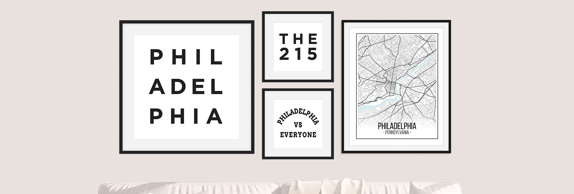 The Philadelphia Collection - Philadelphia Wall Art by Culver and Cambridge