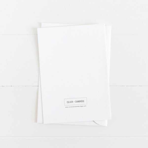 Miss You Card: I Miss You Like I Miss Obama: Modern Greeting Cards by Culver and Cambridge