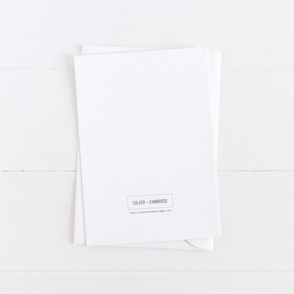 Inspirational Card: Kiss Your Life: Modern Greeting Cards by Culver and Cambridge