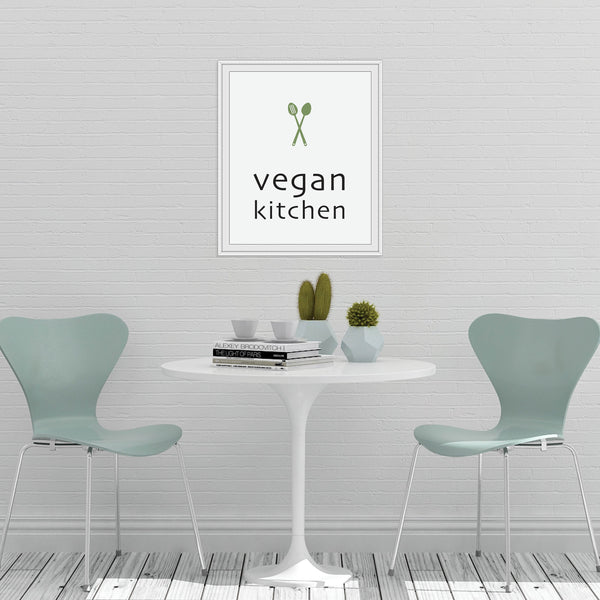 Vegan Kitchen Print: Modern Art Prints by Culver and Cambridge