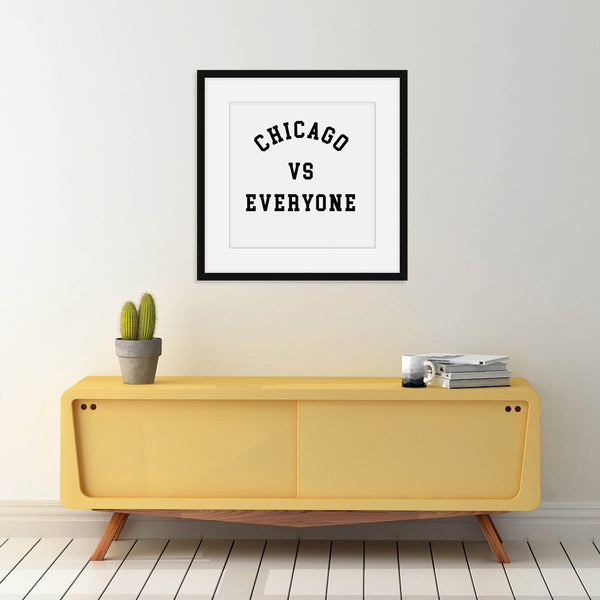 Custom vs Everyone Print: Modern Art Prints by Culver and Cambridge