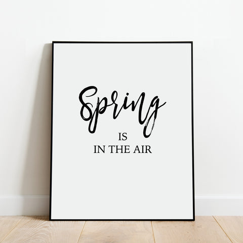 Spring is in the Air Print: Modern Art Prints by Culver and Cambridge