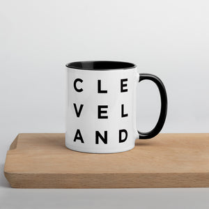 Minimalist Cleveland Mug by Culver and Cambridge - Prints and Gifts