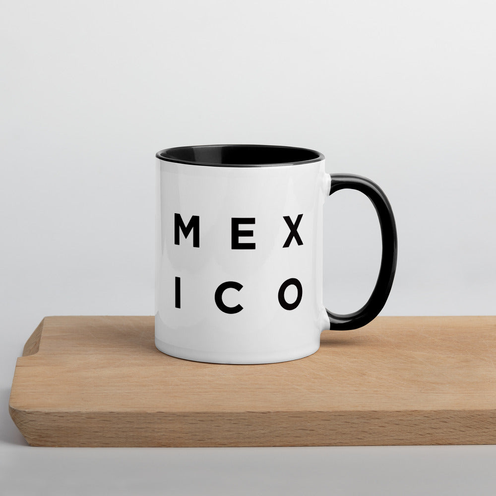 Minimalist Mexico Mug: Minimalist Art Prints and Gifts