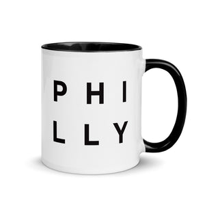 Minimalist Philly Mug: Minimalist Art Prints and Gifts