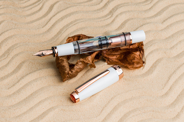 TWSBI Diamond Mini White RoseGold V2 Fountain Pen