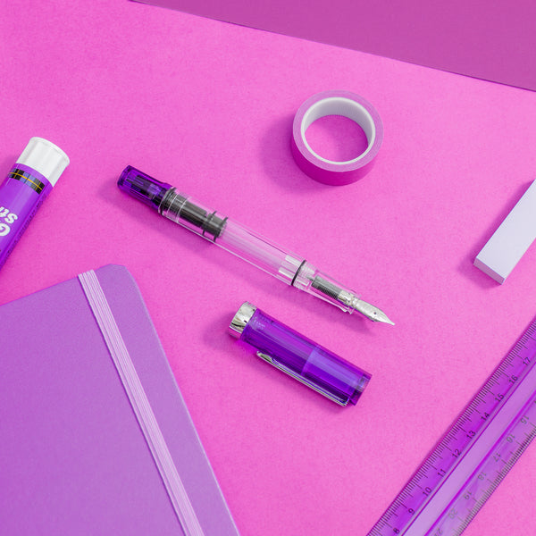 TWSBI ECO Transparent Purple Fountain Pen